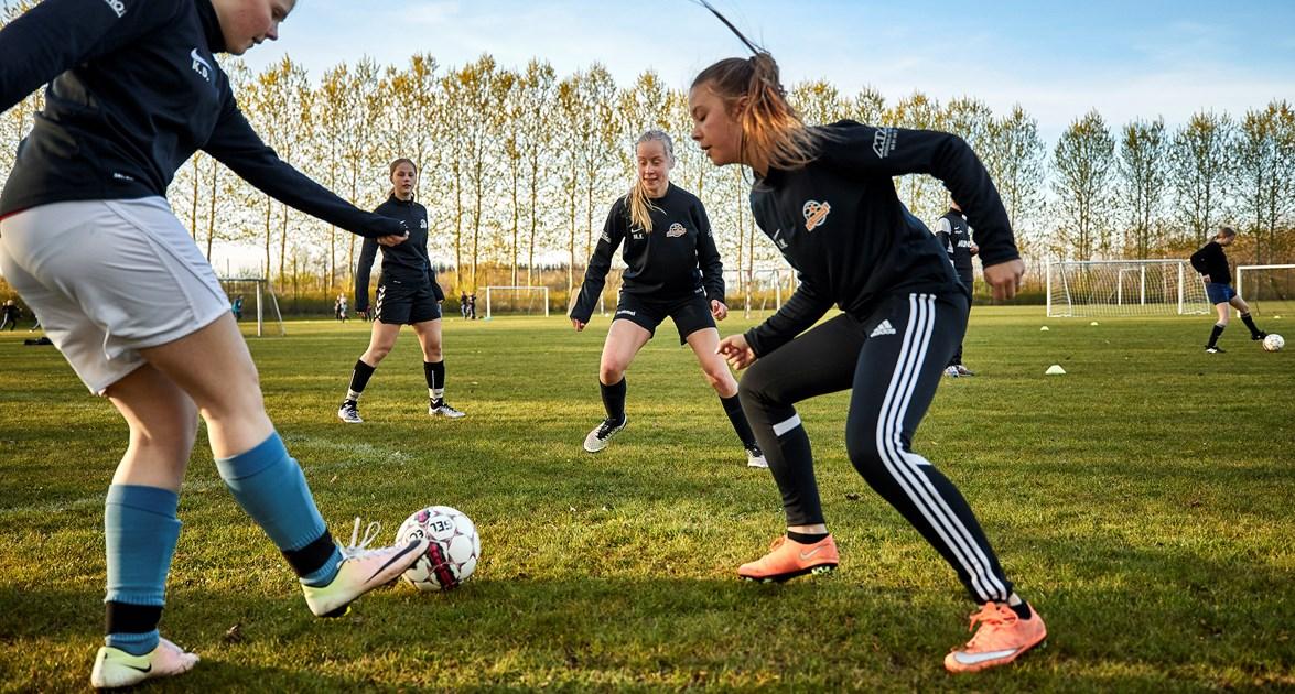Kommentar: Masser af potentiale i pigefodbolden