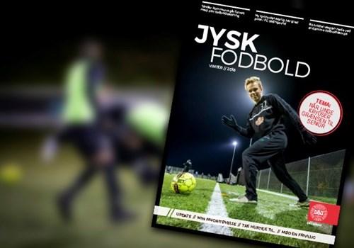 new products 65cd4 fbccb Læs nyeste udgave af fodboldmagasinet Jysk Fodbold